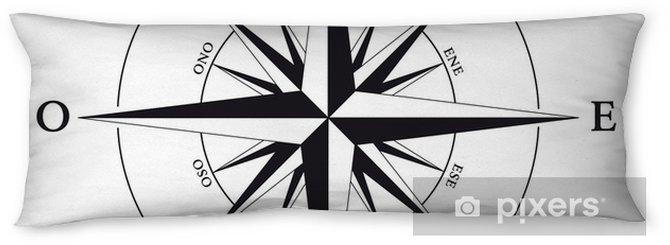 Poduszka relaksacyjna Rose-des-otwory-białe tło - Naklejki na ścianę