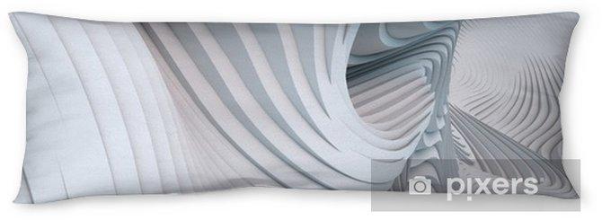 Poduszka relaksacyjna Streszczenie 3d renderowania faliste tło zespołu - Zasoby graficzne