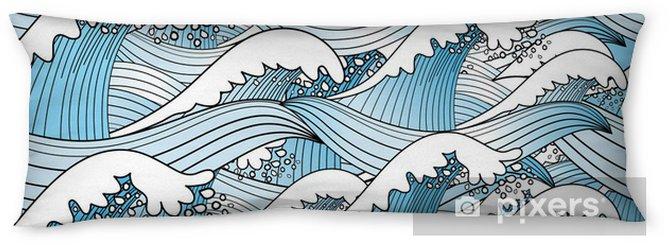 Poduszka relaksacyjna Tekstury z fal morskich - Przeznaczenia