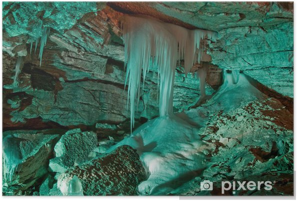 Poster Ледяные сталагмиты - Sonstige