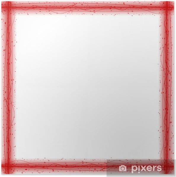 Poster Abstract Red Box