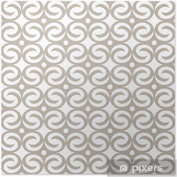 Poster Abstract seamless pattern - Hintergründe