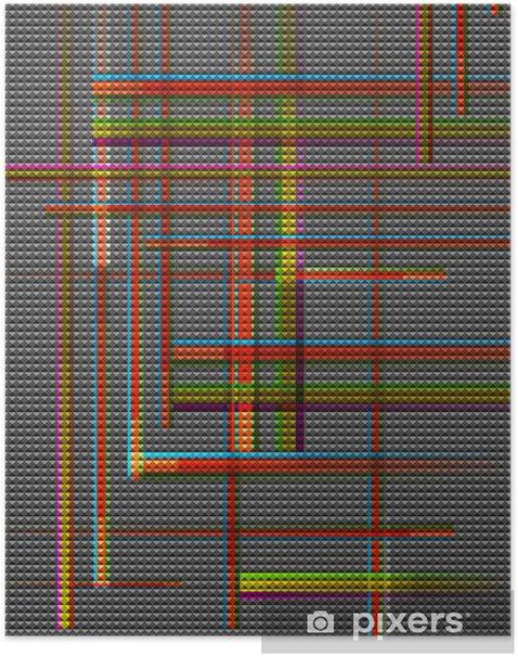 Poster Abstract Vector Background - Kunst und Gestaltung