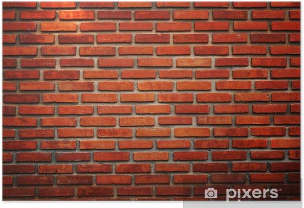 Poster Alte Mauer Textur Hintergrund - Hintergründe