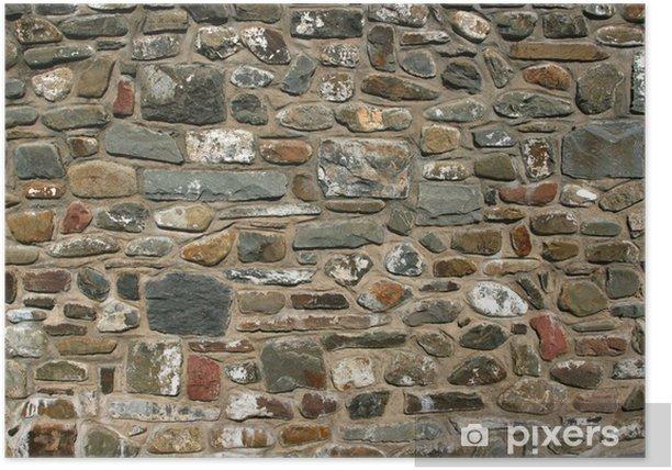Poster Alten Steinmauer - Denkmäler