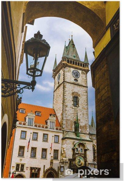 Poster Altes Rathaus, Stare Mesto, Prag - Stadt