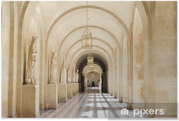 Poster ampia marmo piastrella corridoio u2022 pixers® viviamo per il