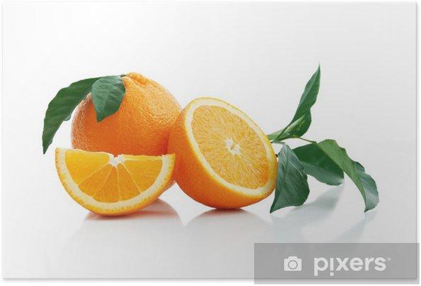 Poster Arancione - Frutta