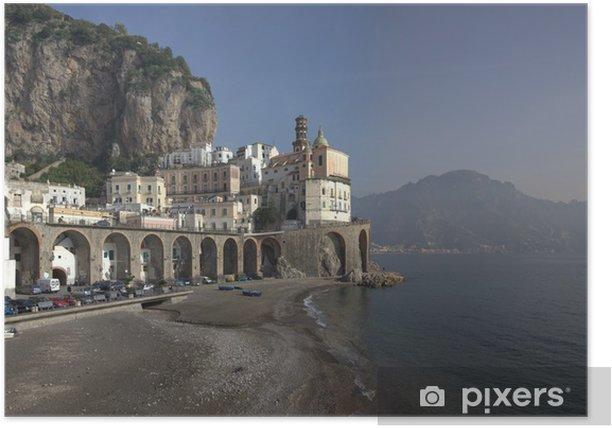 Poster Atrani Panoramica - Europa