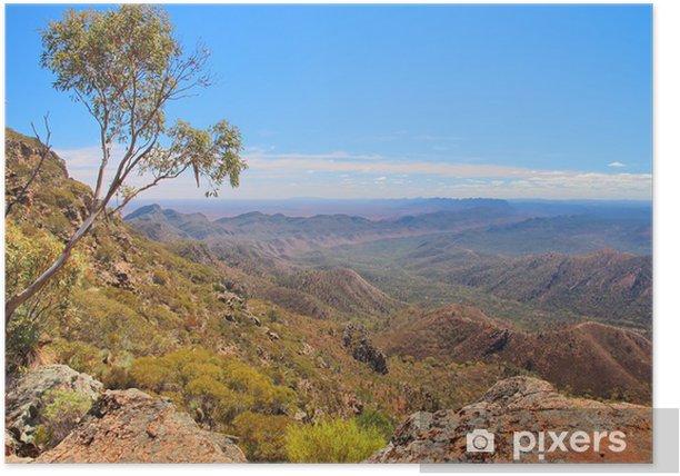 Poster Australian Outback und Flinders Ranges - Themen