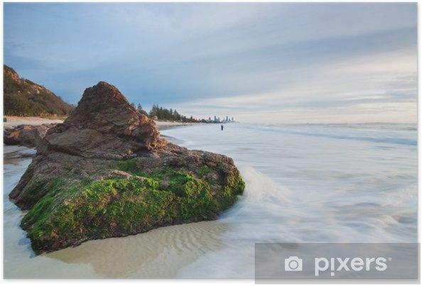Poster Australische seelandschaft am frühen Morgen - Australien