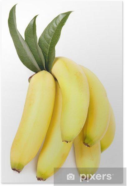 Poster Banane - Früchte