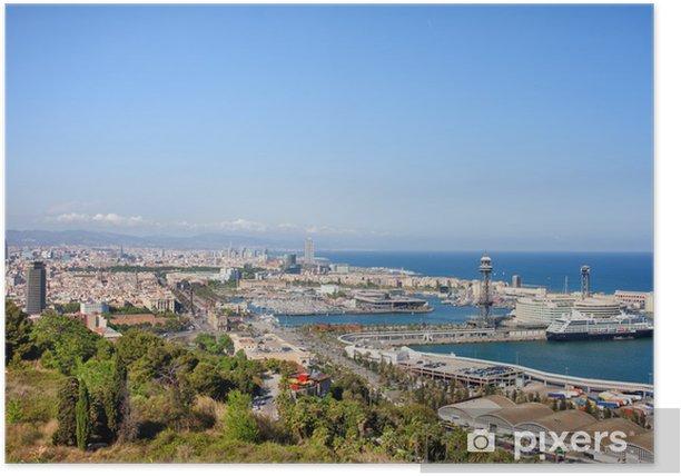 Poster Barcelona Stadtbild - Themen
