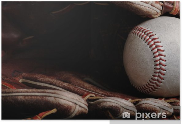 Poster Baseball - Teamsport