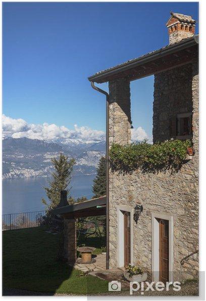 Poster Bed and breakfasta panoramico - Urlaub