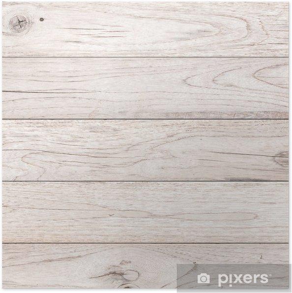 Poster Bianco Legno Della Plancia Texture Di Sfondo Marrone Pixers