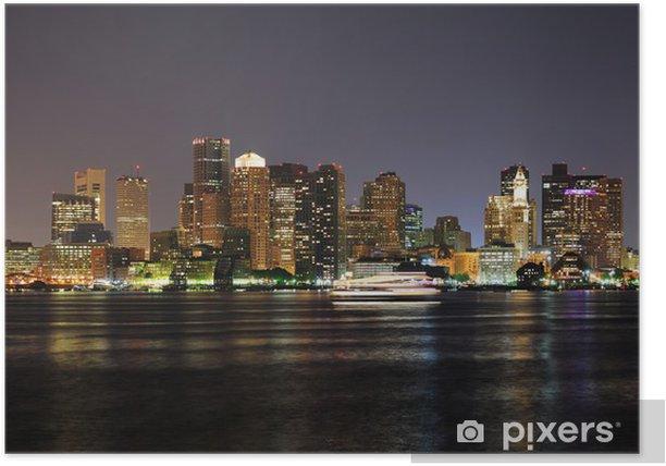 Poster Boston - Skyline - Sonstige