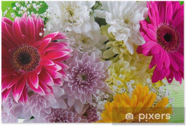 Poster Bouquet Di Fiori Bellissimi
