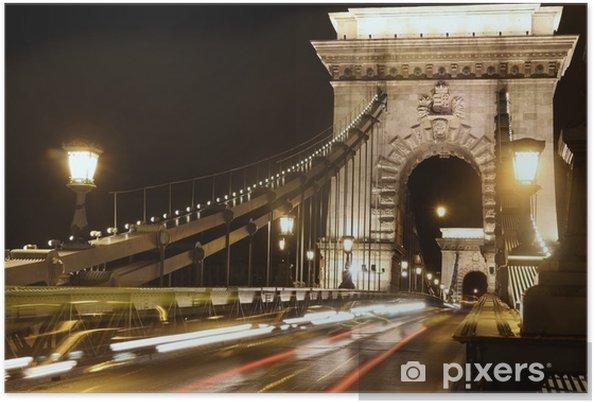 Poster Budapest, Ungarn - Europa