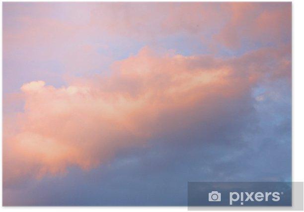 Poster Bunte Himmel - Himmel