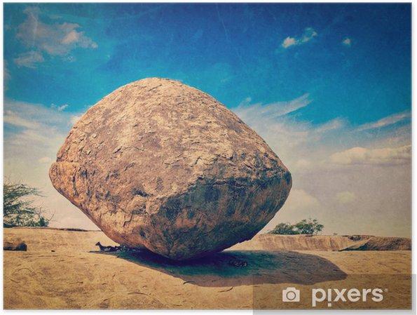 Poster Giganti Per Camere Da Letto : Poster butterball di krishna bilanciamento del gigante di pietra