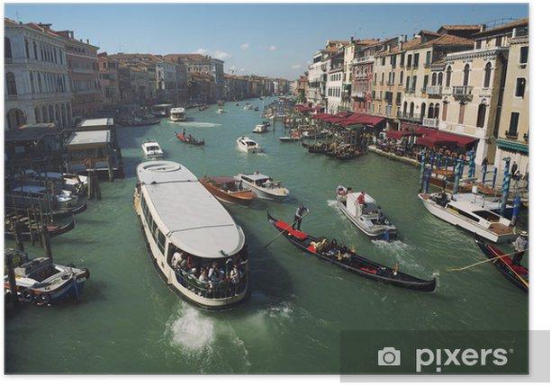 Poster Canal Grande Venezia Morning View - Vacanze