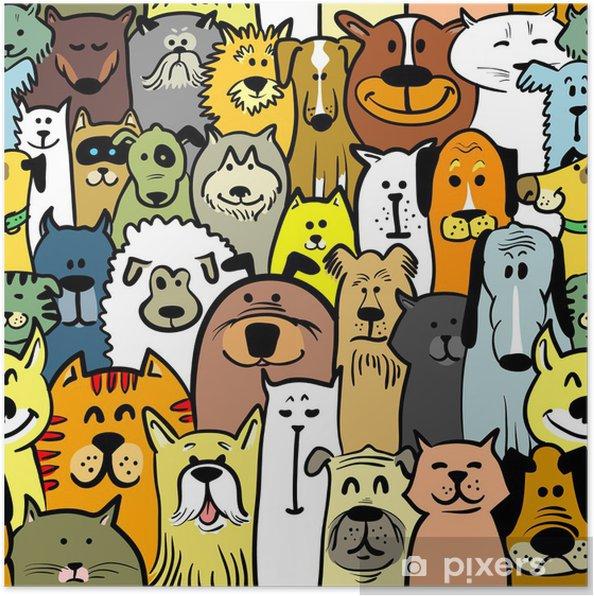 Poster Cani e gatti - Mammiferi