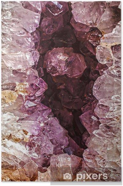 Poster Cristalli di energia 1 - Meraviglie della Natura