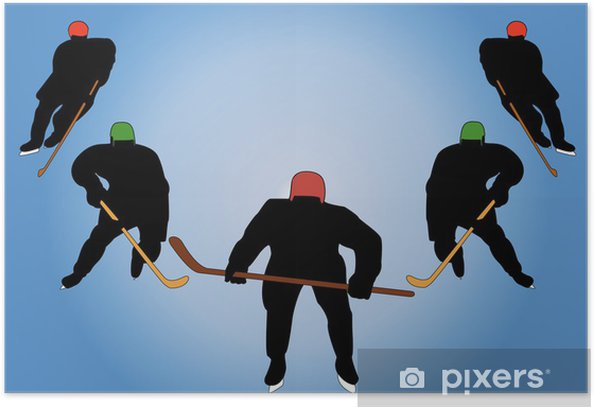 Poster Die herrliche fünf - Einzelsportarten