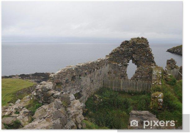 Poster Duntulm Castle, Isle of Skye, Schottland - Europa