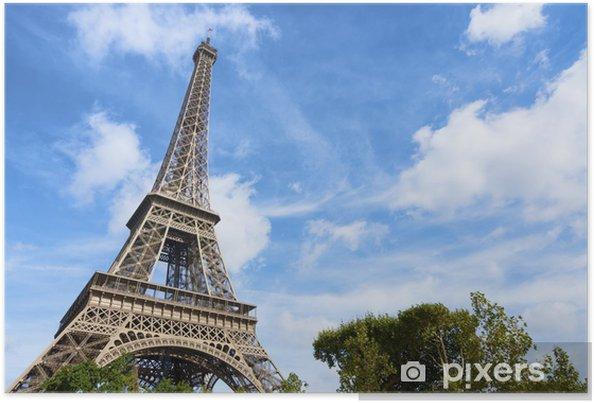 Poster Eiffelturm - Europäische Städte