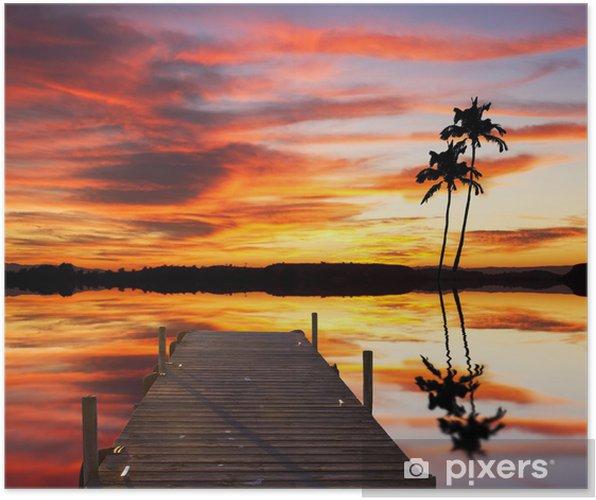 Poster Eine tropische Rincon - Urlaub