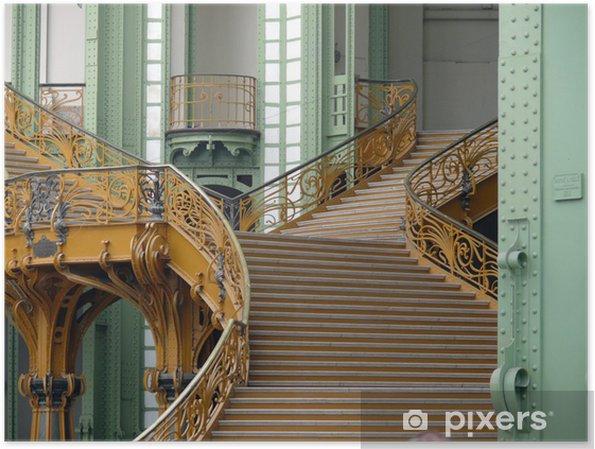 Poster Escalier intérieur du Grand Palais, Paris