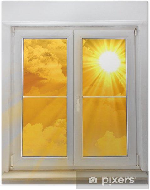 Poster Fenster zur Sonne - Ökologie