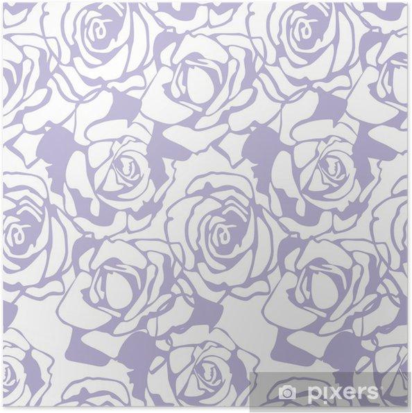 Poster Floral vector Textur - Feste