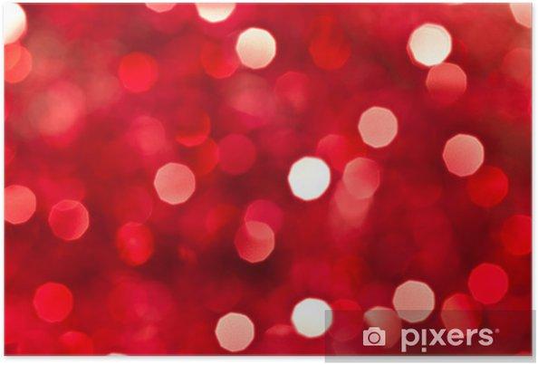 Poster Glitter Sfondo Rosso Pixers Viviamo Per Il Cambiamento