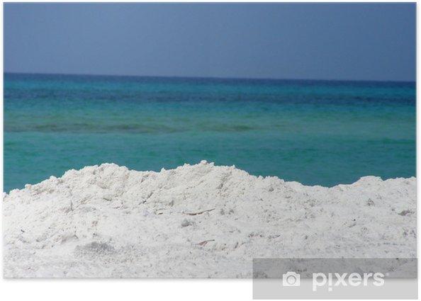 Poster Golf von Mexiko - Wasser