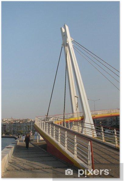 Poster Goztepe Brücke in Izmir 2 - Naher Osten