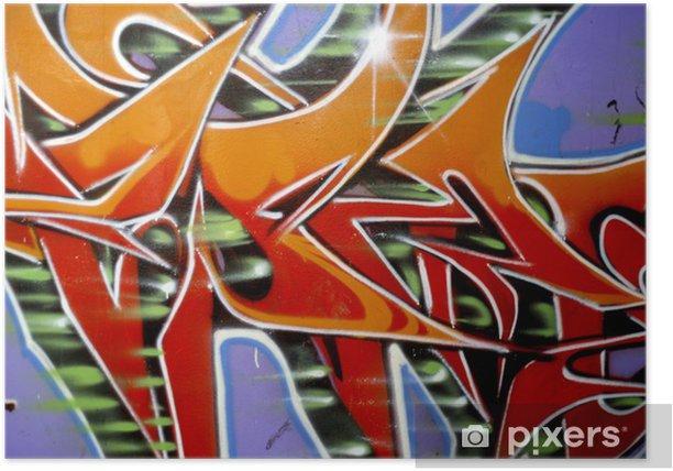 Poster Graffiti-Serie - Kunst und Gestaltung