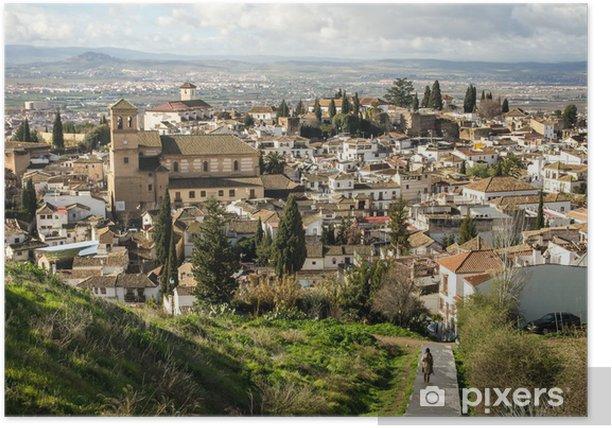 Poster Granada - Europa