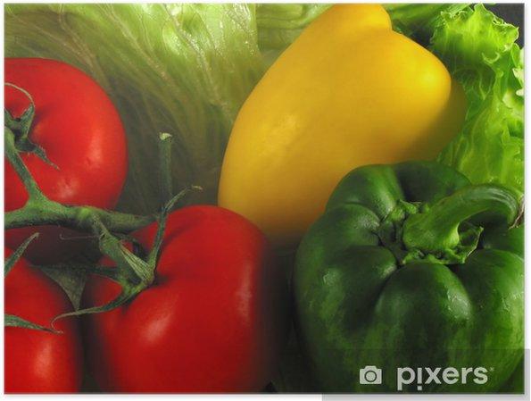 Poster Healthy food - Temi