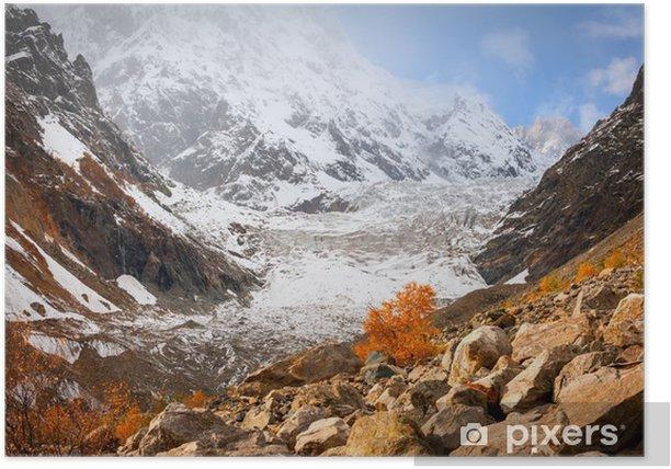 Poster Herbst im Glacier - Themen