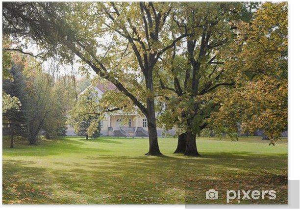 Poster Herbstliche Farben - Europa