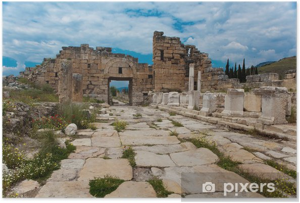 Poster Hierapolis - Asien