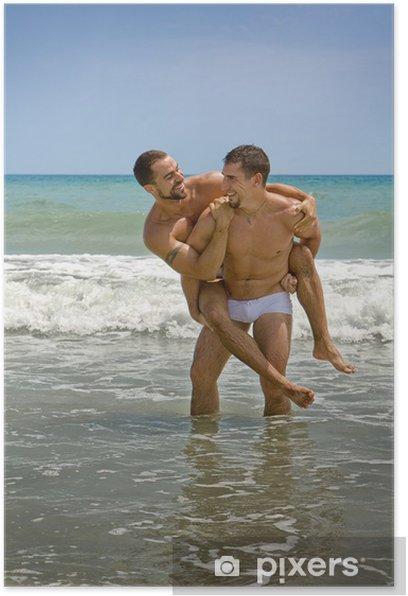 Poster Homosexuell Urlaub - Paare