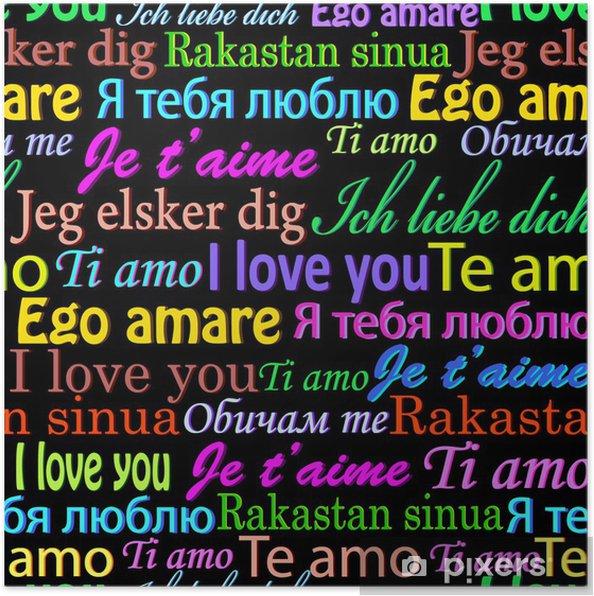 ich liebe dich mehrere sprachen