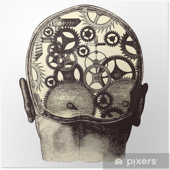 Poster Il cervello meccanico - Salute & Medicina
