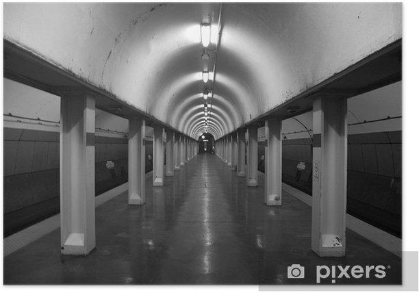 Poster Infinito della metropolitana - Temi