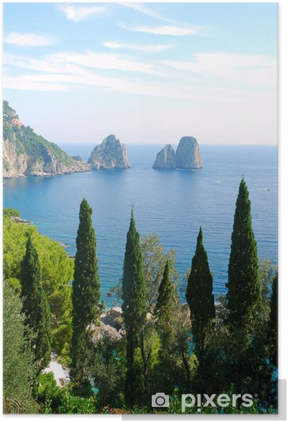 Poster Insel Capri - Europa