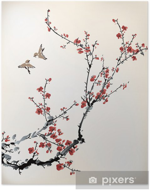 Poster Inverno dolce - Stili